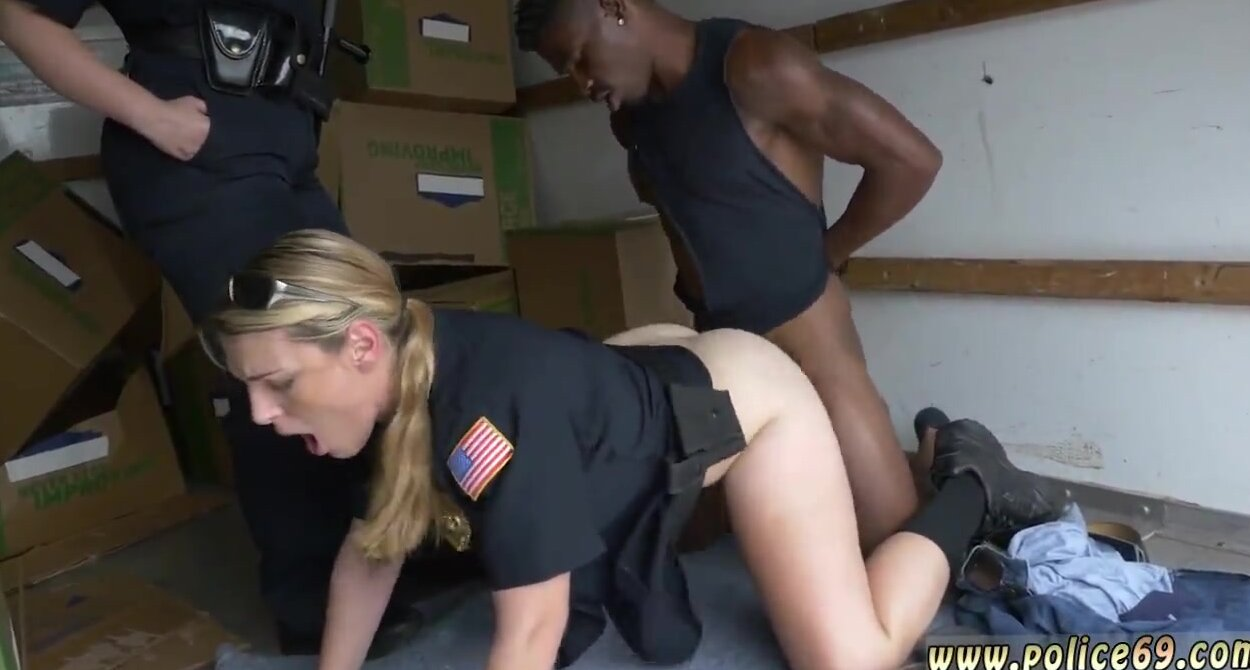 White Girl Gives Black Blowjob