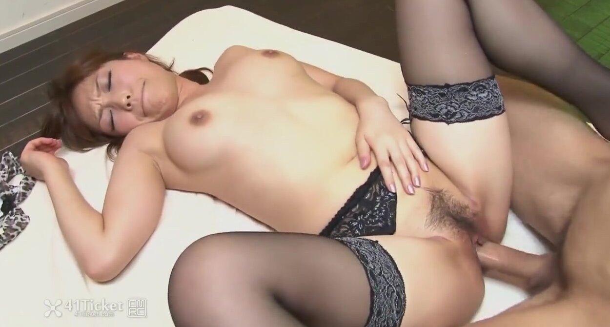 Asian Porn Movies Uncensored yui ayana fucks black & asian dick in 3some (uncensored jav)
