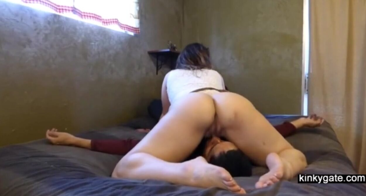 Ebony Riding Face Eat Pussy