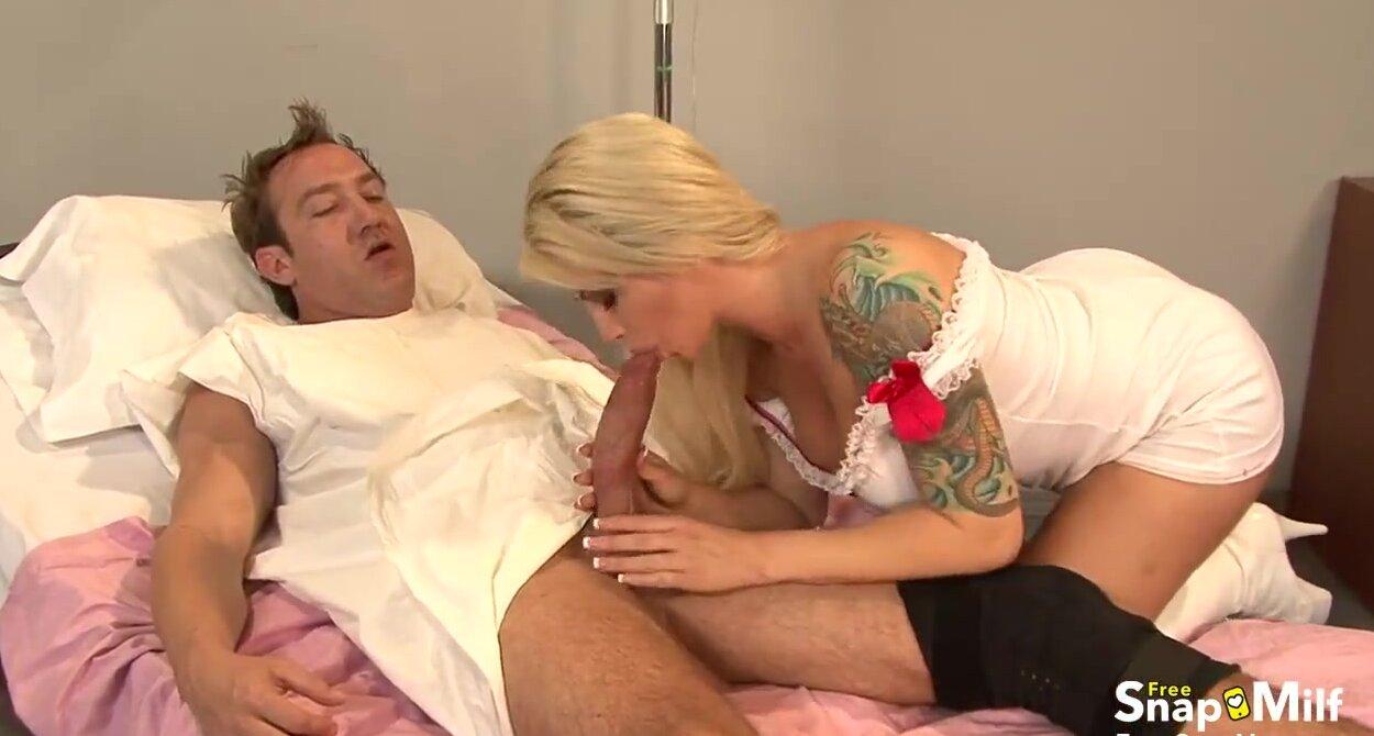 Blonde Nurse Fucks Patient