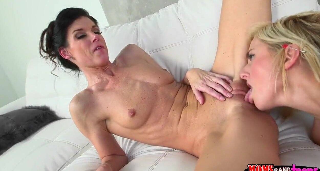 Step Mom Teaches Daughter Anal