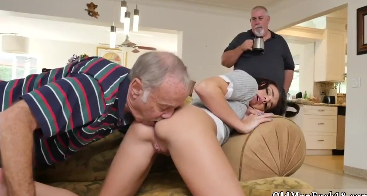 Old Man Spanking Young Girl