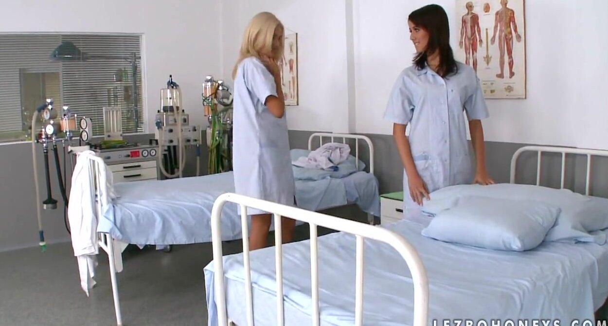 Lesbian Nurses Having Sex