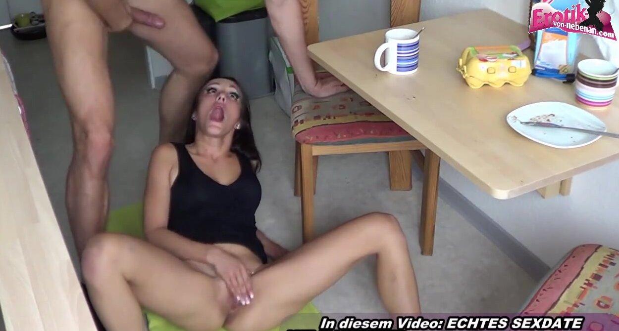 German Milf Anal Casting