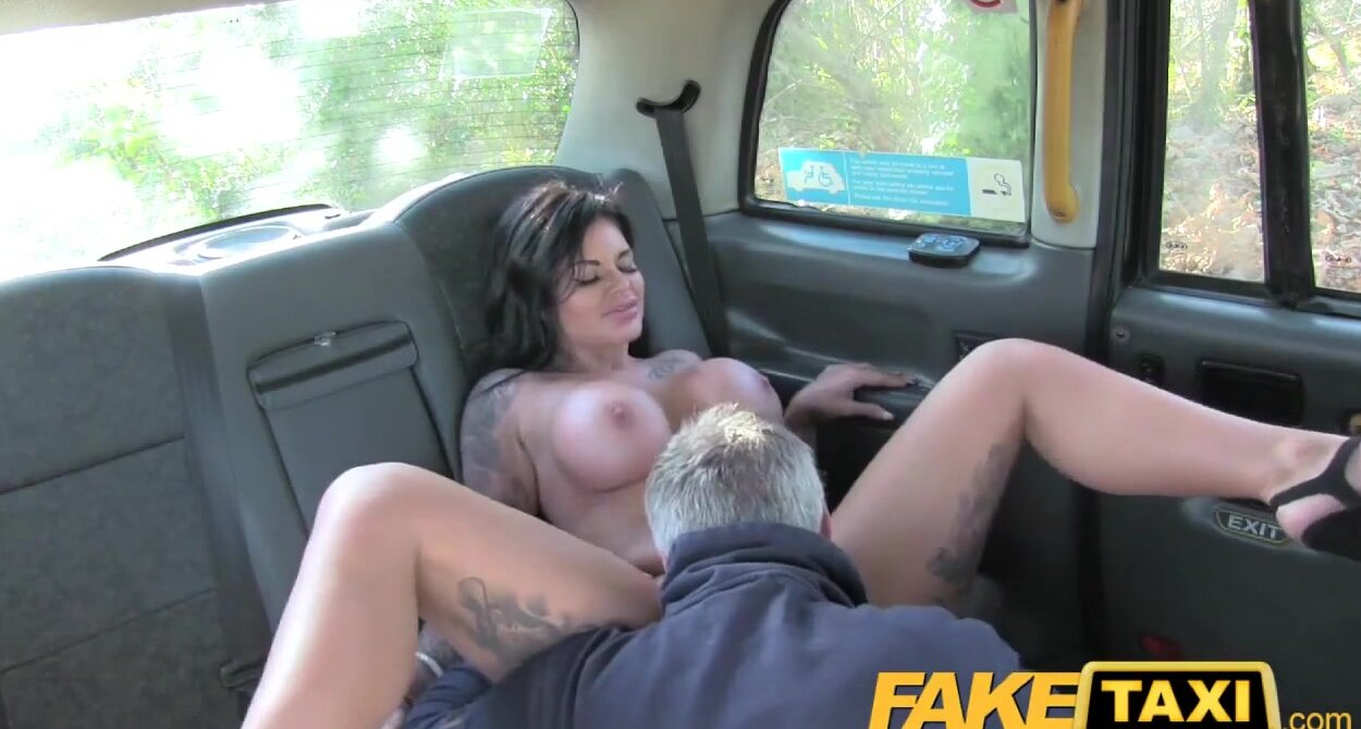 Adult Tv Sex Porn fake taxi adult channel tv hottie gets cock