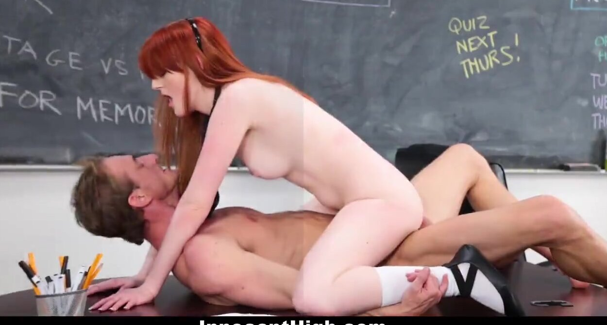 Big Ass Teacher Fucks Student