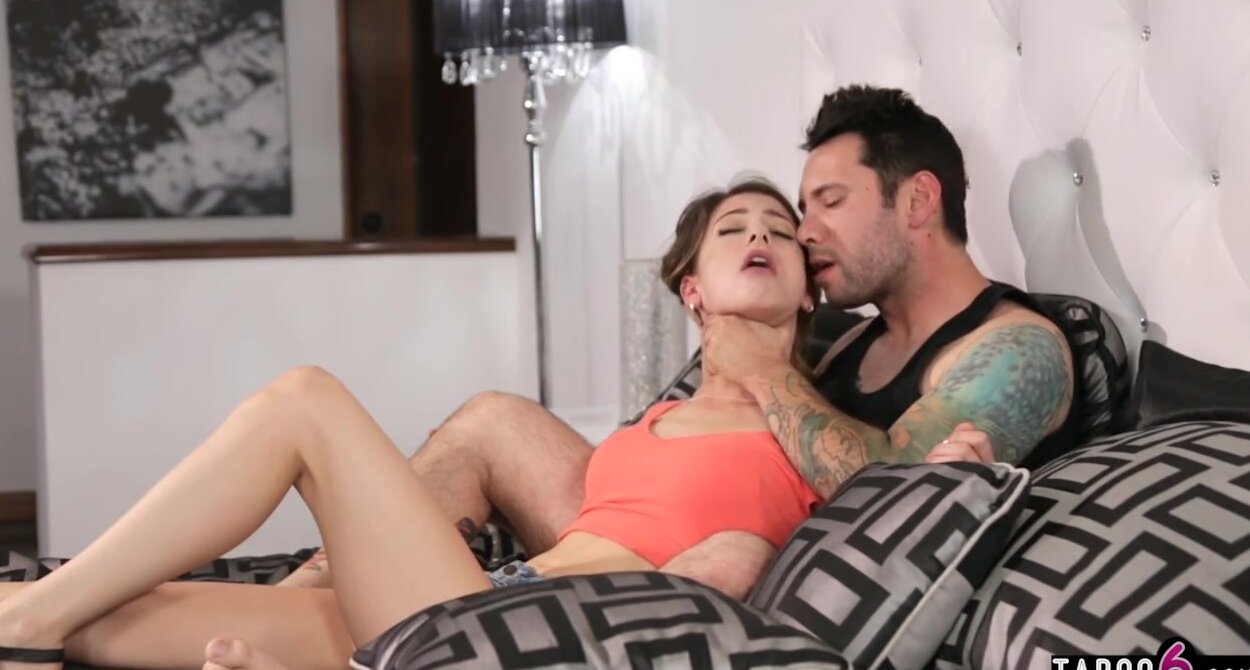Step Dad Forcing Daughter Fuck