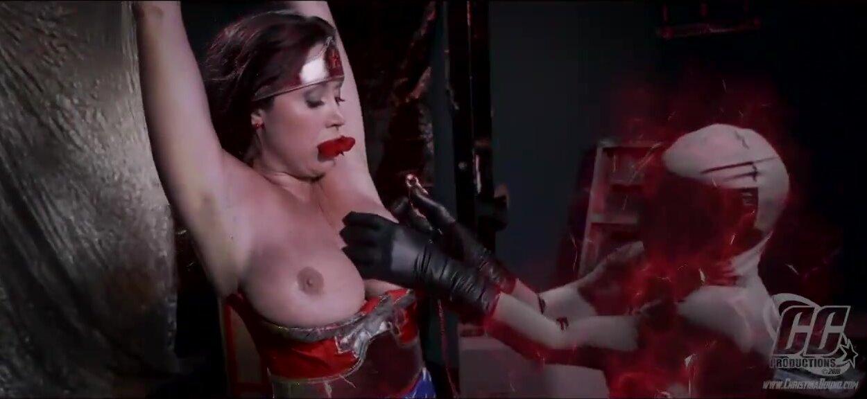 Wonder women tit torture