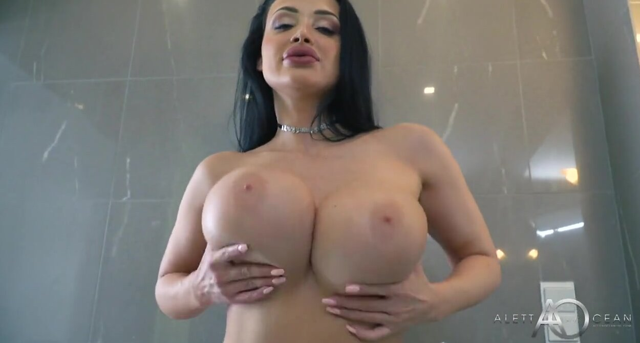 Aletta Ocean Porno Xxx french beauty with big boobs, aletta ocean could not hold back from playing  with a huge dildo