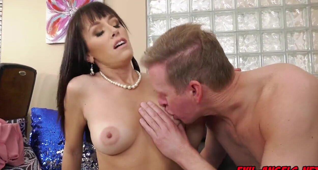 Alana Cruise Gangbang Porn alana cruise gives the hung a drool soaked blowjob