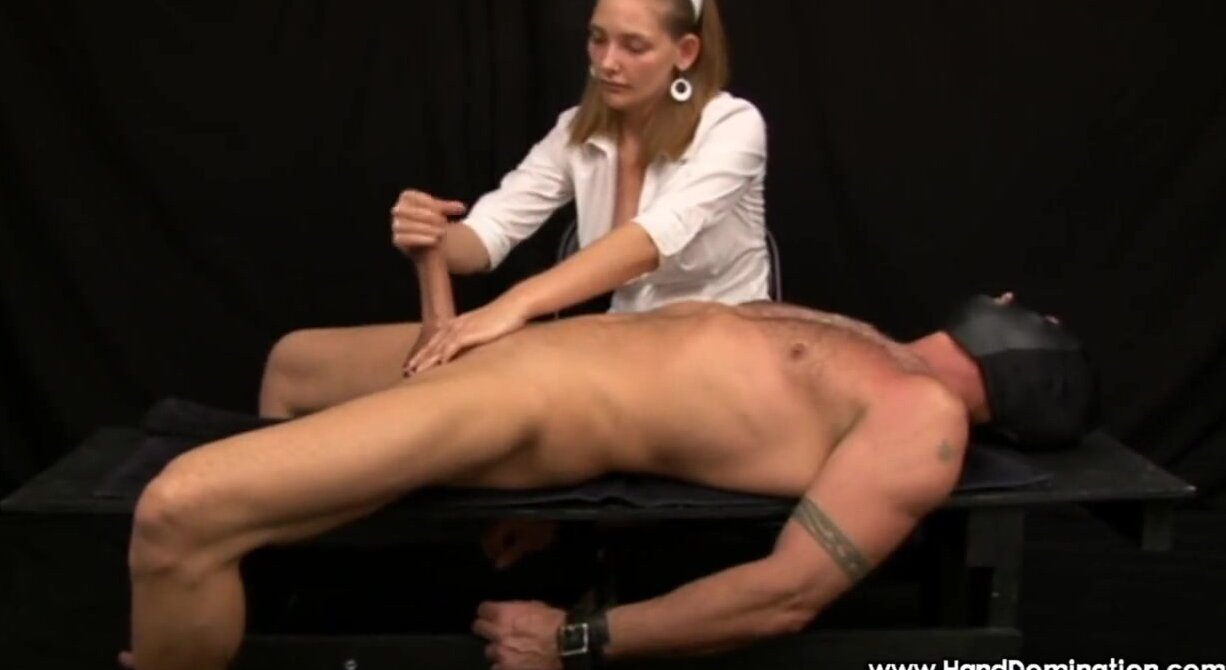 Post Orgasm Torture Handjob
