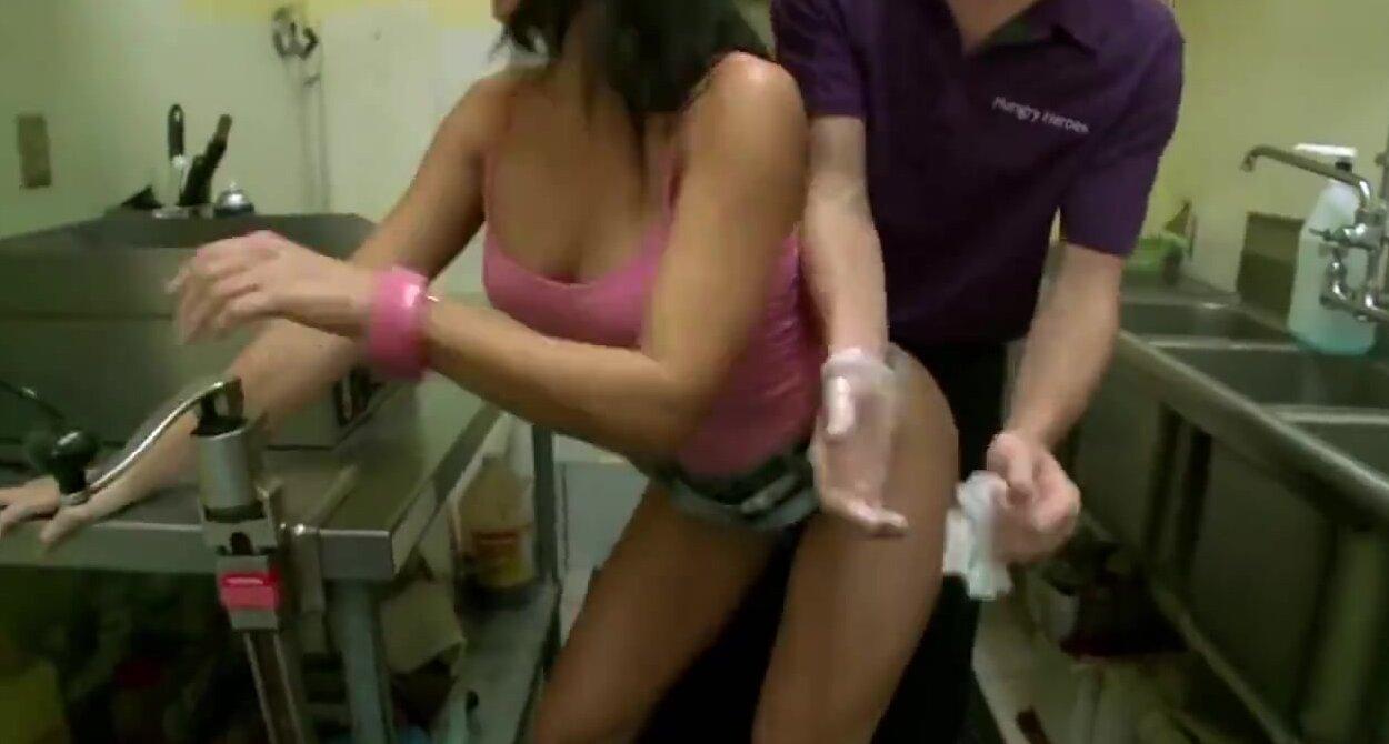 Hot lap dance into sex