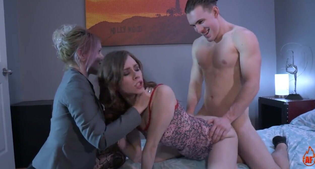 Step Brother Sister Kissing