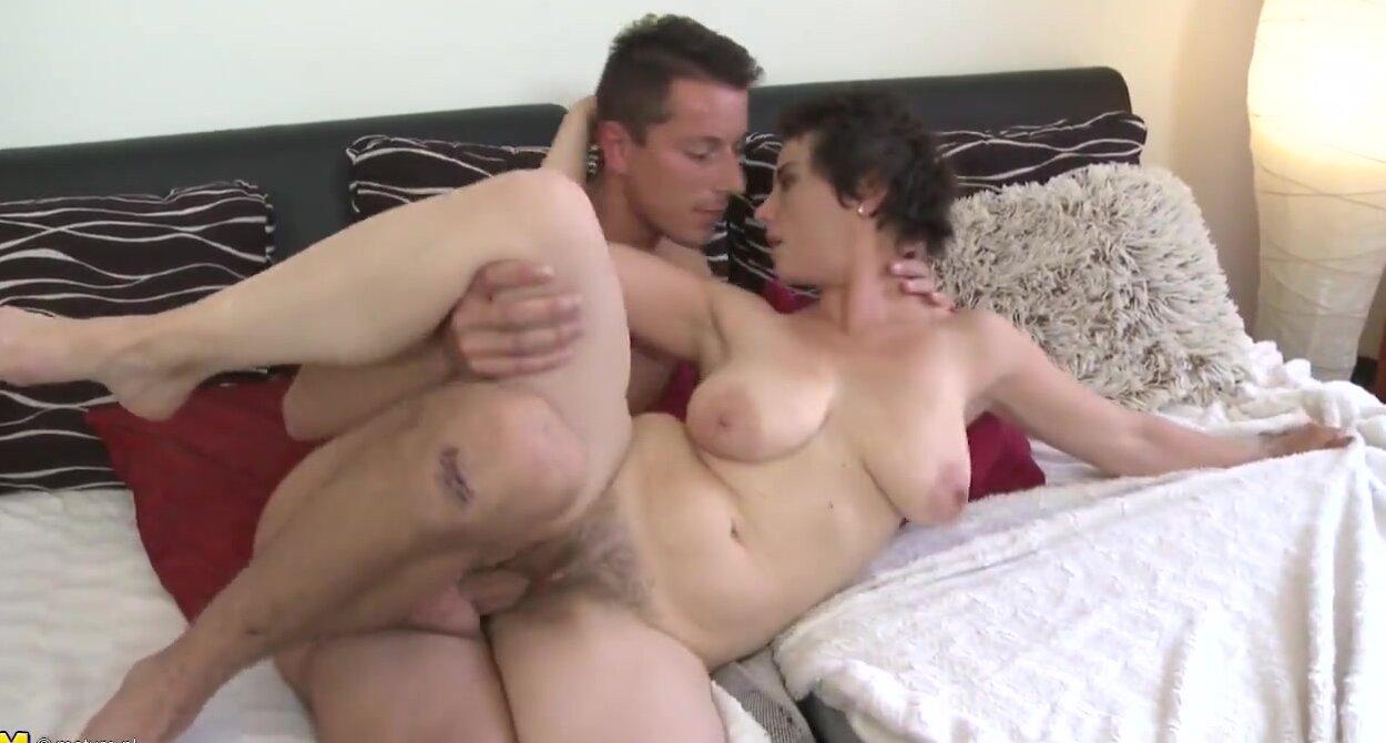 Hot Mom Fucks Her Step Son
