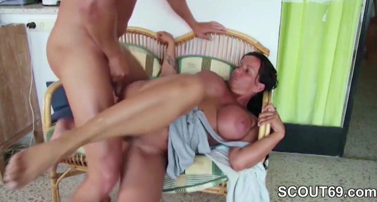 Step Mom Sucks Son Dick